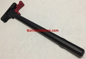 AR15 Charging Handle w/ RED Anodized Latch Mil-Spec AR-15