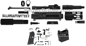 "U-Build AR15 9mm 4.5"" Pistol Kit (Glock) w/Colt Magwell Adapter"