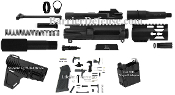 "U-Build AR15 9mm 4.5""Pistol Kit(Glock)Colt Magwell Adapter+Brace"